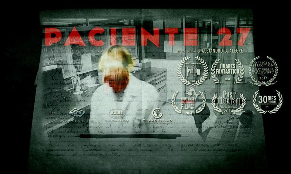 Paciente 27, rumbo a cinco festivales internacionales