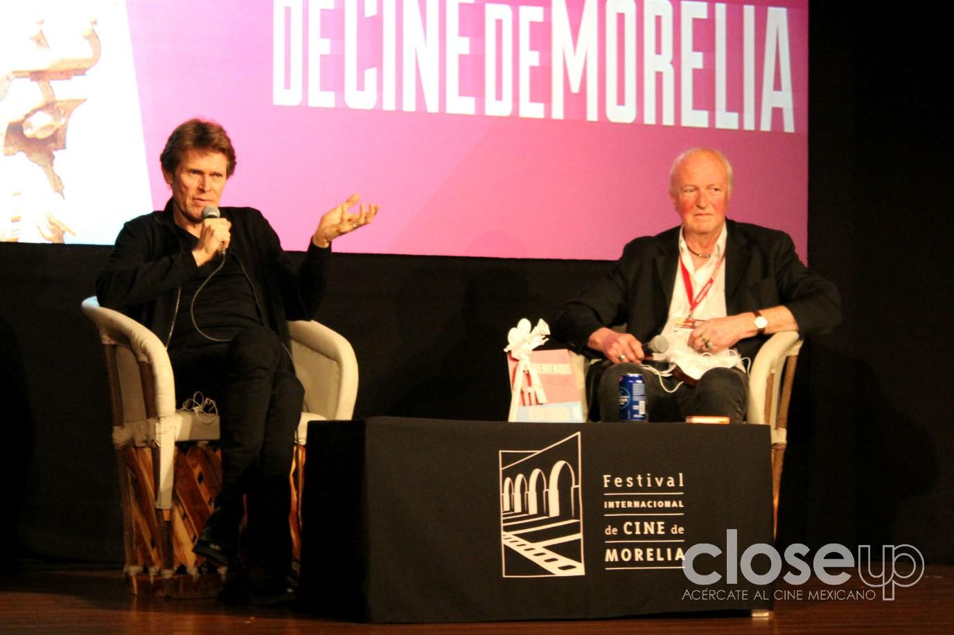 Fotos: Willem Dafoe en Morelia